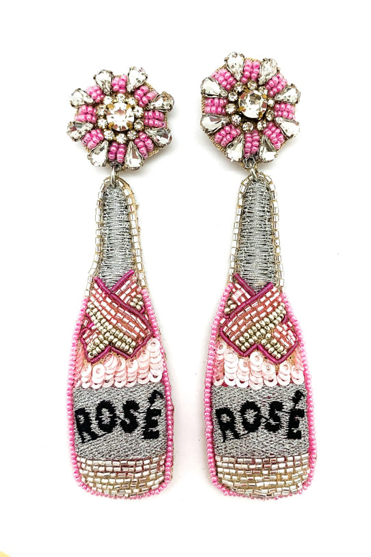 ROSE' BOTTLE EARRINGS