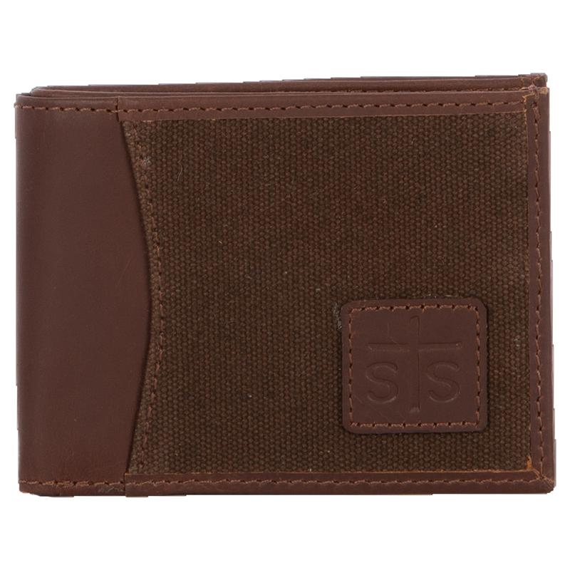 Bifold 2 Canvas Wallet