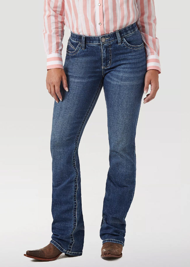 WOMEN'S WRANGLER® ULTIMATE RIDING JEAN WILLOW IN DAVIS