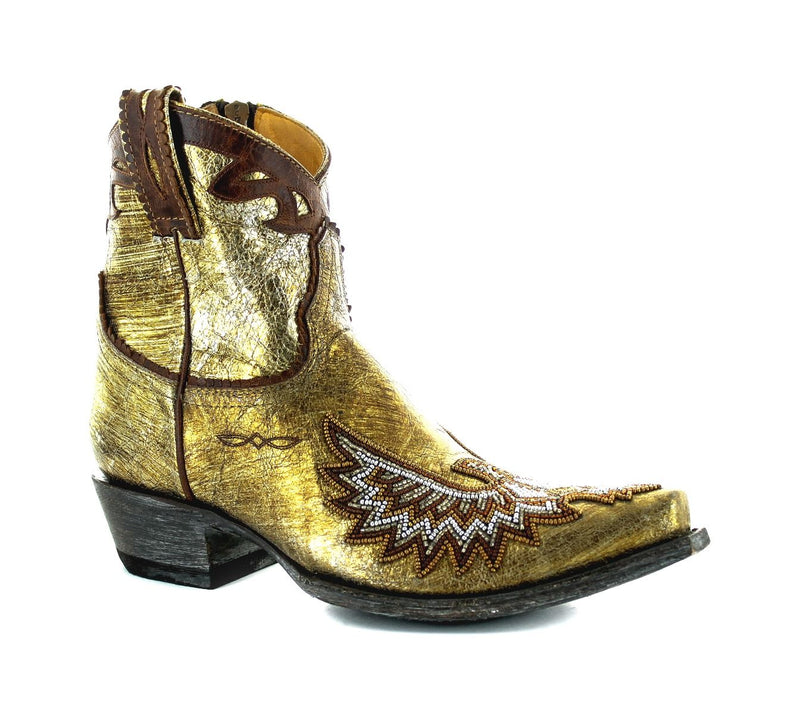 EAGLE BEADED BOOTIE