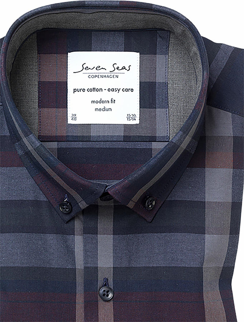 MAY BACH PLAID SHIRT