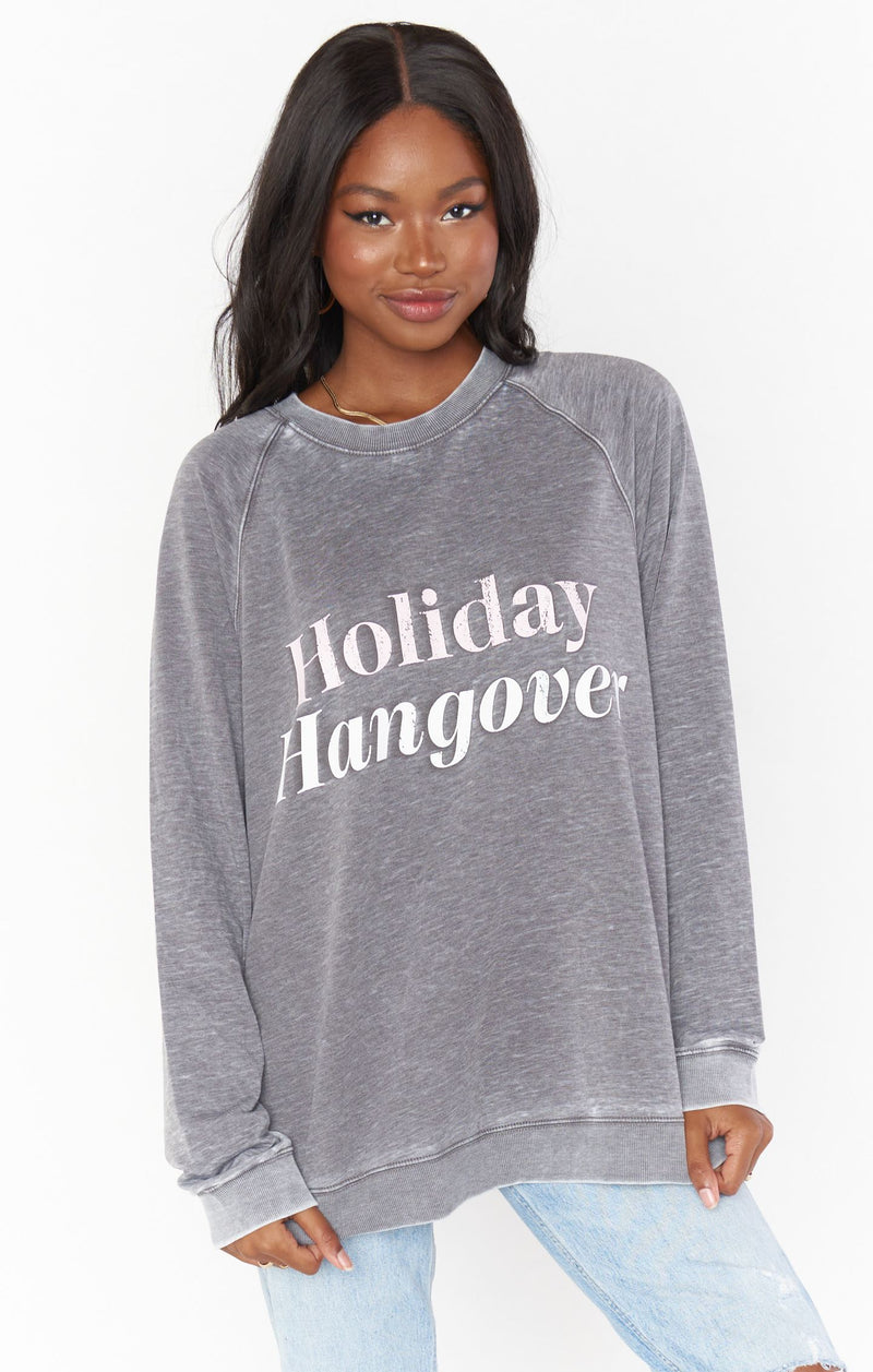 HOLIDAY HANGOVER PULLOVER