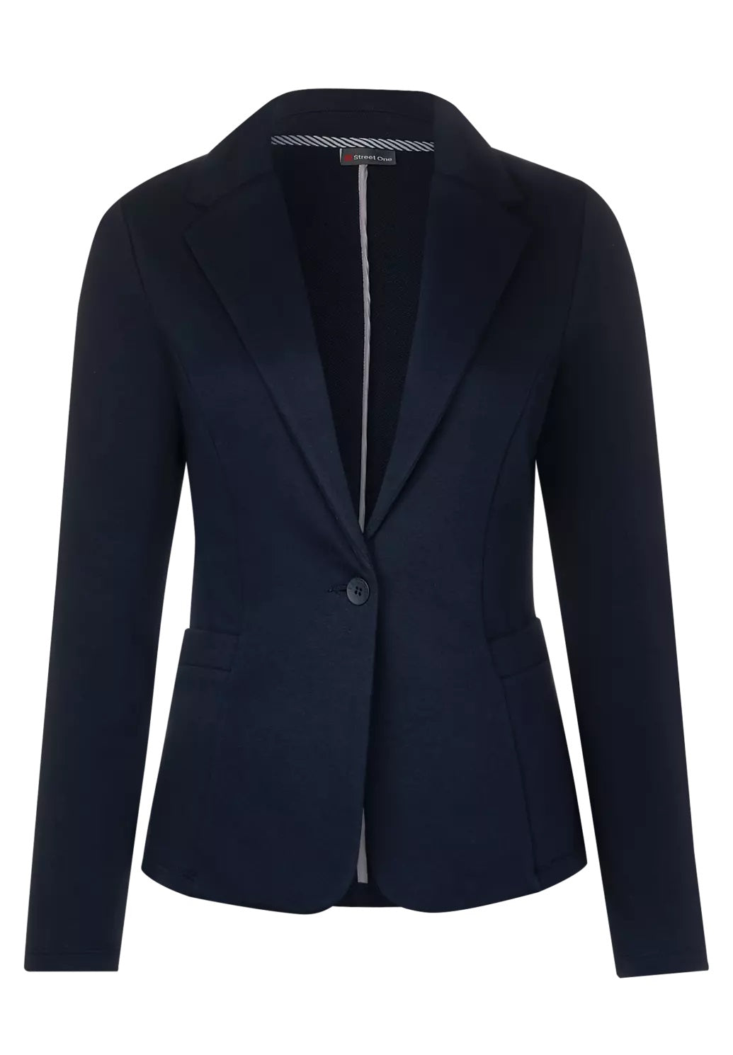 Street One - Blazer in Unifarbe