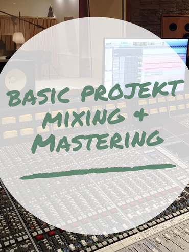 Basic Project Mixing & Mastering