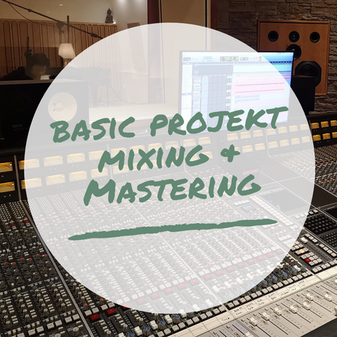 Basic Projekt Mixing & Mastering - Mix My Music