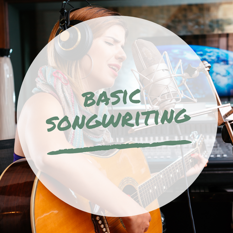 Basic Songwriting Packet - Mix My Music