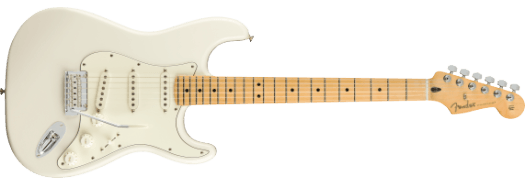 Fender Player Stratocaster Polar White Maple Fretboard