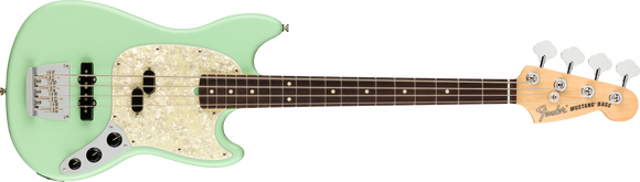 Fender AMERICAN PERFORMER MUSTANG® BASS Satin Surf Green