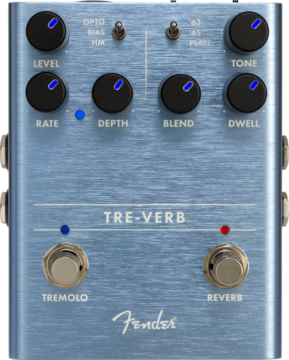 Fender Tre-Verb Digital Reverb-Tremolo Pedal