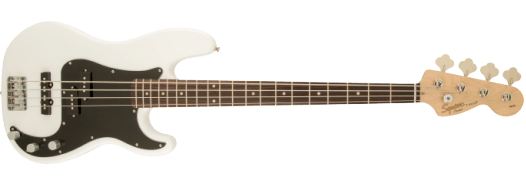 Squier Affinity Series™ Precision Bass® PJ Olympic White