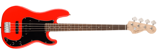 Squier Affinity Series™ Precision Bass® PJ Race Red