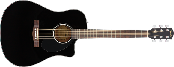 Fender CD-60SCE DREADNOUGHT Black