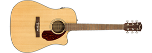 Fender CD-140SCE Dreadnought w/ Hard Case Natural