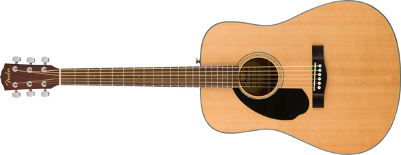 Fender CD-60S Dreadnought Left Hand Natural