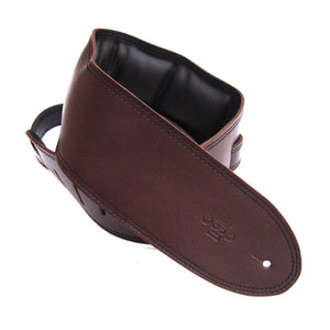 "DSL 3.5"" Padded Garment Saddle Brown/Black GEG35-17-1 Strap"