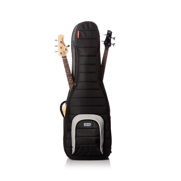 Classic Dual Bass Guitar Case, Black
