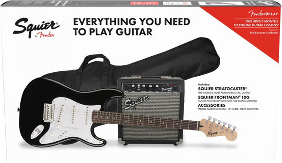 Squier® Stratocaster® Pack Black