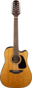Takamine TGD30CE12NAT 12 string Dreadnought Natural