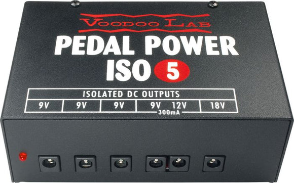 Voodoo Lab Lab Iso 5 Power Supply