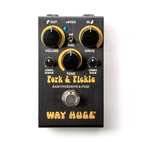 Way Huge Smalls Pork & Pickle Bass Overdrive & Fuzz