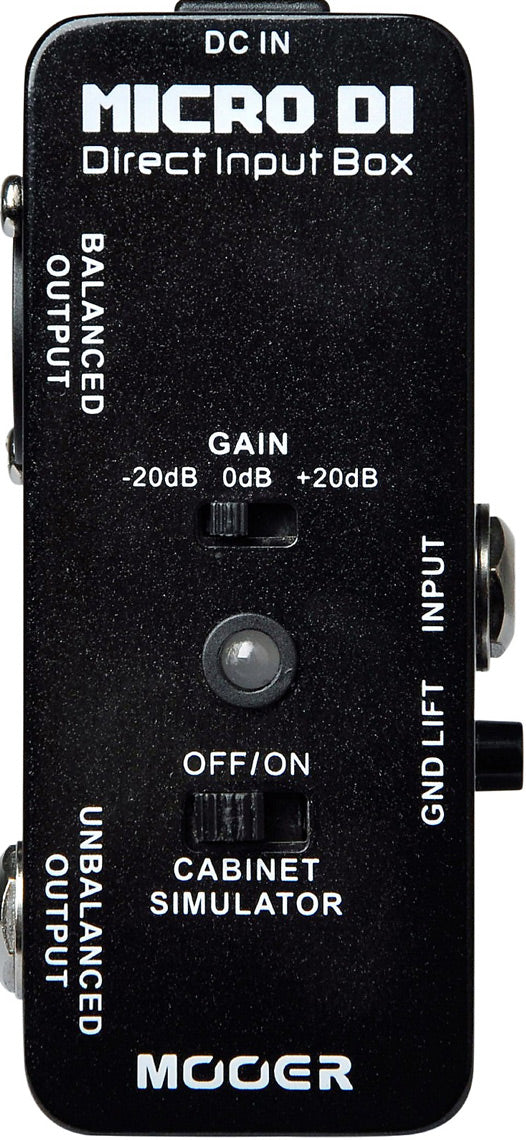 Mooer Micro Di-Direct Input Box MEP-DI