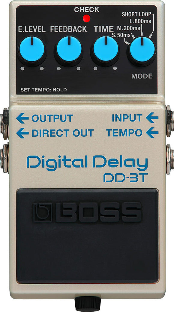 Boss DD-3T Digital Delay Pedal w/ Tap Tempo