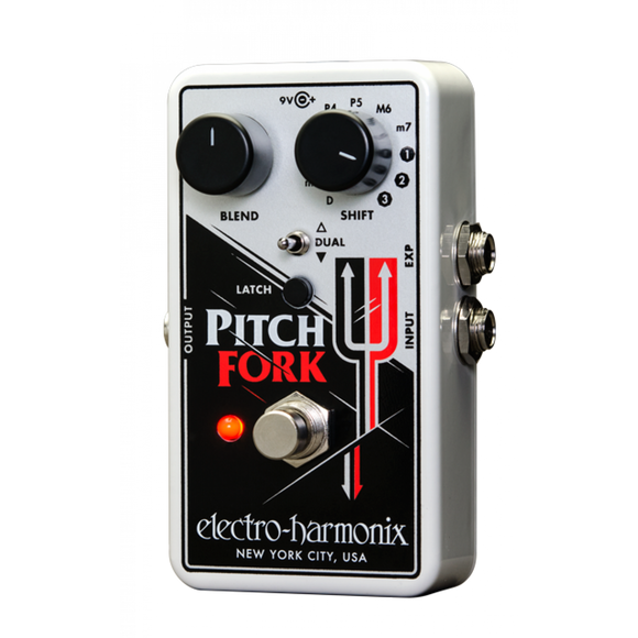 Electro Harmonix EHX Pitch Fork Polyphonic Pitch Shifter