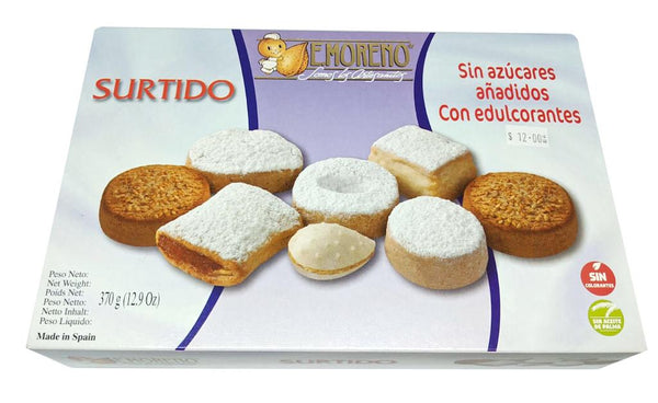Surtido Polvorones and Mantecados Sugar Free 300g