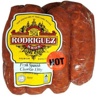 Fresh Spanish Chorizos HOT 8pc Pack