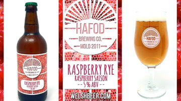 Out Now - Raspberry Rye in a cask, a bottle & a glass.