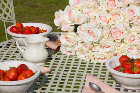 Strawberries and Cream with Gorgeous Things - Gorgeous Day #12
