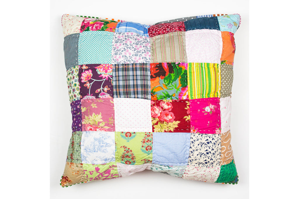 Handstitchd Patchwork Cushion | Pick and Mix