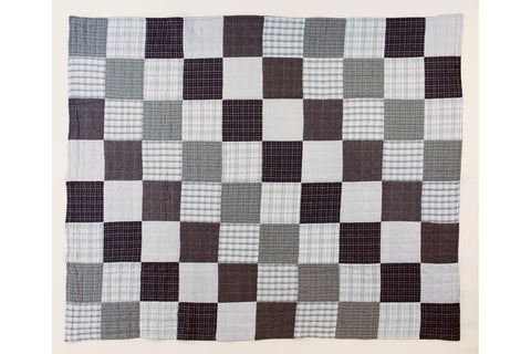 Handstitched Patchwork Quilt | Earl Grey