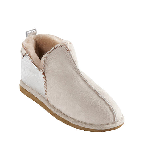 Annie Slipper in Honey Silver for Women