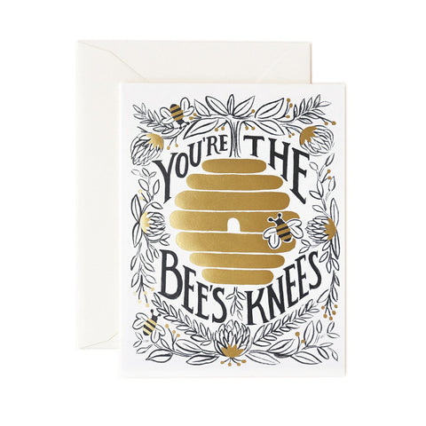 You're The Bees Knees Greeting Card