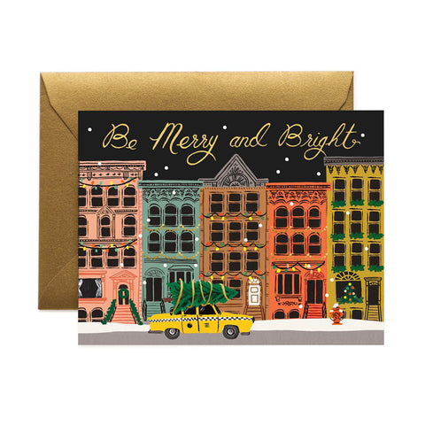 Be Merry And Bright Greeting Card