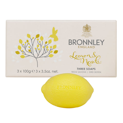 Lemon & Neroli Soap Collection