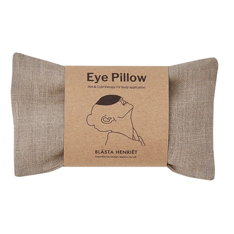 Linen Wheat Eye Pillow