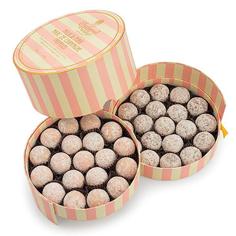 Giant Pink And Milk Marc De Champagne Truffles