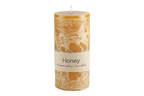 Honey Scented Pillar Candle 15 x 17.6 cm