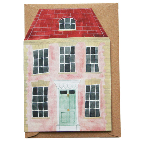 House Greeting Card by Eleanor Percival