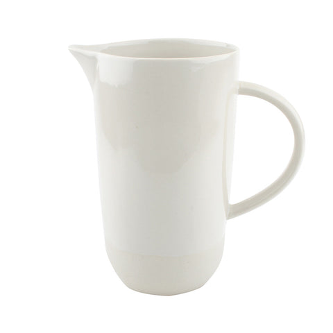 Ivory Two Tone Porcelain Jug