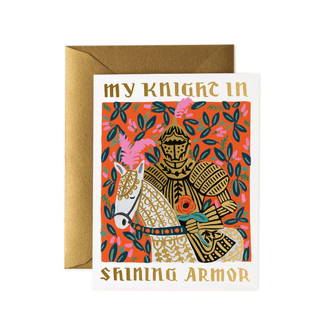 My Knight In Shining Armor Greeting Card
