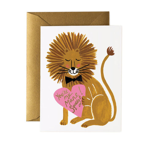 You're My Mane Squeeze Greeting Card