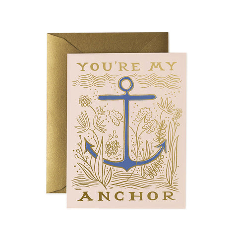 My Anchor Greeting Card