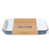 Enamel Serving Tray in Pigeon Grey