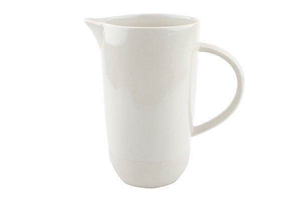 Shell Bisque White Jug