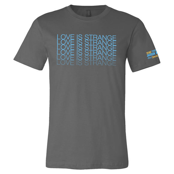 2010 Love Is Strange Tour T-Shirt - Heather
