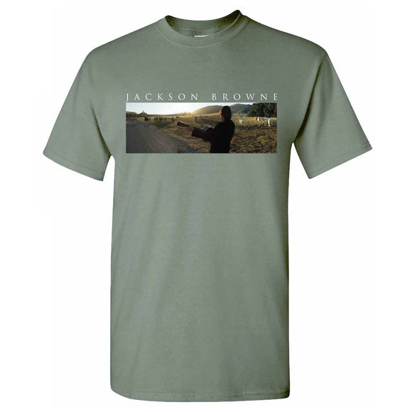 JACKSON BROWNE Cow T-Shirt