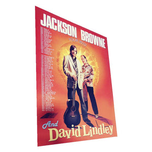 JACKSON BROWNE and David Lindley 2010 Tour